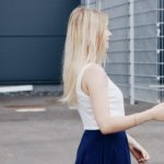 Lena im blauen Rock